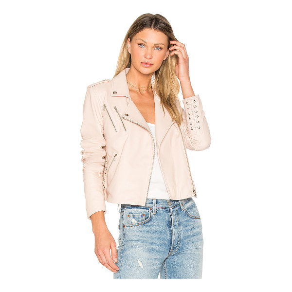 GENERATION LOVE Callahan Jacket - Self: 100% lambskin leatherLining: 50% viscose 50% acetate....