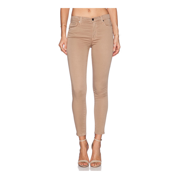 "GENETIC LOS ANGELES Daphne skinny crop - Cotton blend. 13"""" in the knee narrows to 10"""" at the leg..."
