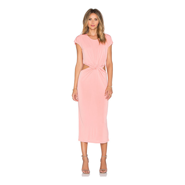 GLAMOROUS Twist front dress - 92% poly 8% elastane. Unlined. Cut-out detail. GLAM-WD19....