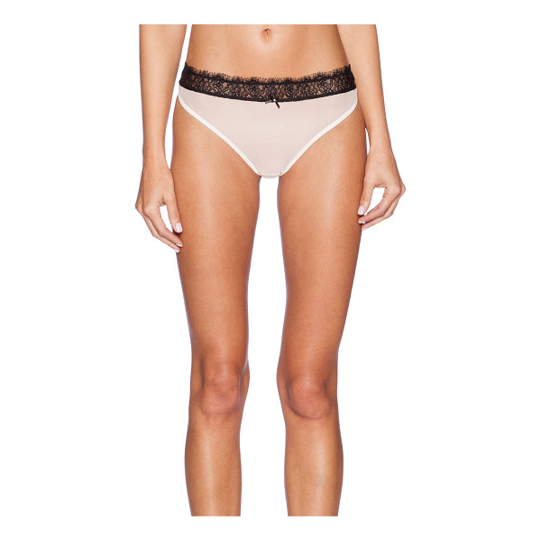 GOOSEBERRY INTIMATES Coco tanga - 63% polyamide 27% elastane 10% poly. Hand wash cold. Lace...