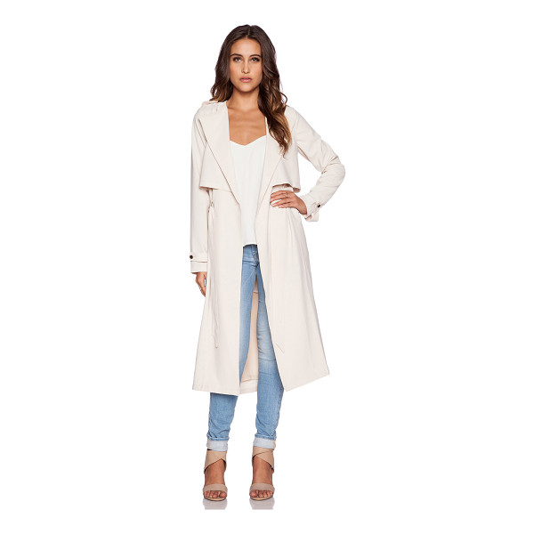GREYLIN Pietra trench coat - Self: 95% poly 5% spandexLining: 100% poly. Dry clean only....
