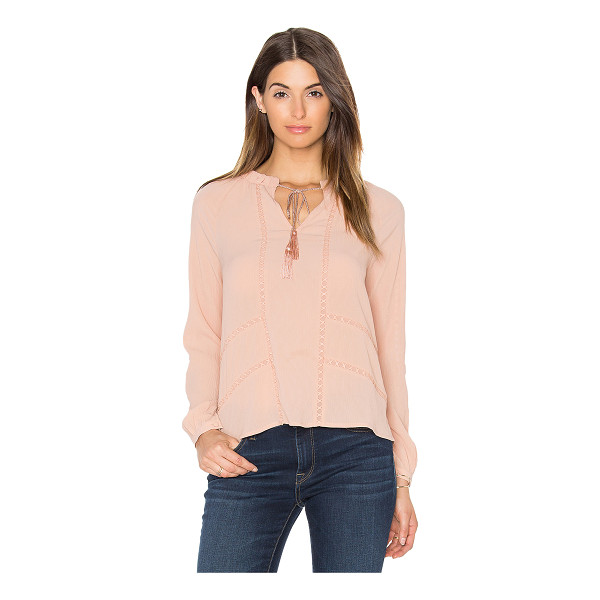 GREYLIN Trina Pleated Blouse - Self: 100% polyContrast: 100% cotton. Dry clean only. Front...