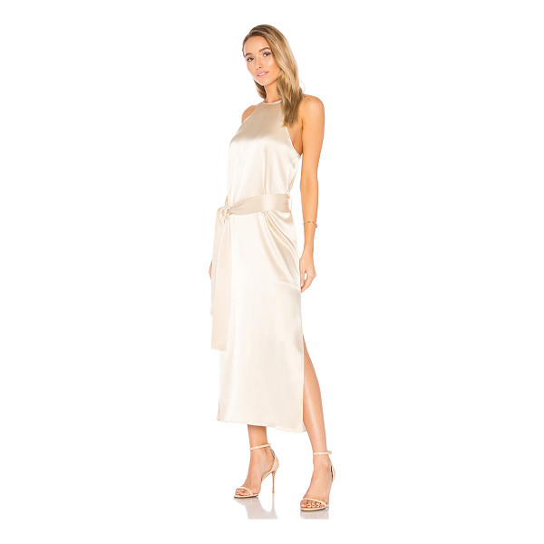 HALSTON Racer Slip Dress - Shell: 78% triacetate 22% polyLining: 100% poly. Dry clean...