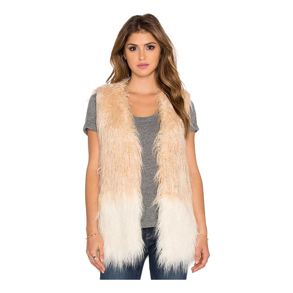 HEARTLOOM Shell faux fur vest - Faux fur shell: 75% acrylic 25% polyLining: 97% poly 3%...