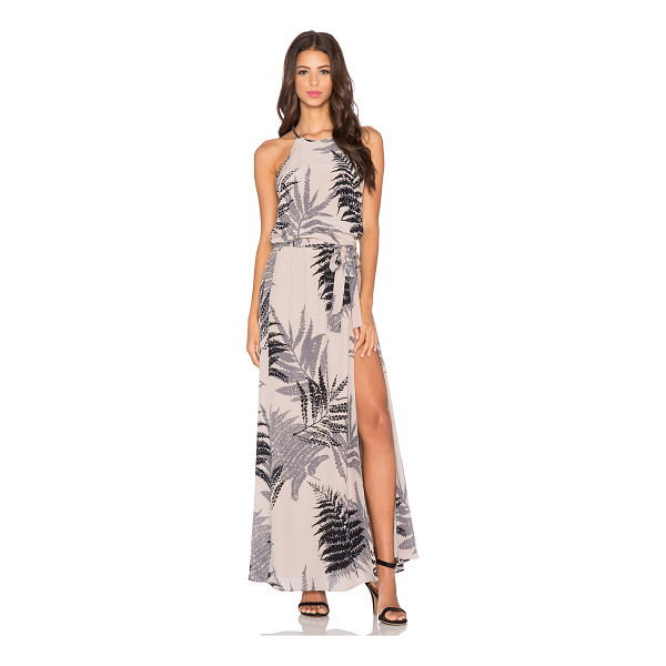 HELENA QUINN Mila maxi dress - Self: 100% silkLining: 100% poly. Dry clean only. Lined....