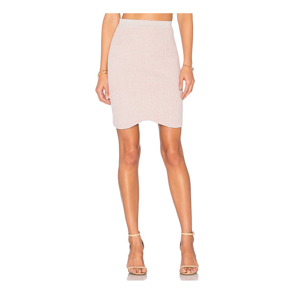 """HELFRICH Kiki Skirt - """"100% cotton with lurex. Dry clean only. Unlined...."""