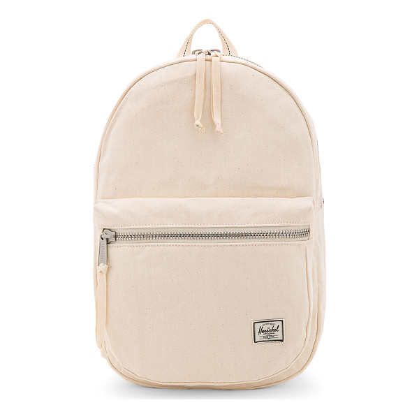 HERSCHEL SUPPLY CO. Surplus Lawson Backpack - Cotton fabric exterior with printed poly lining. Zip around
