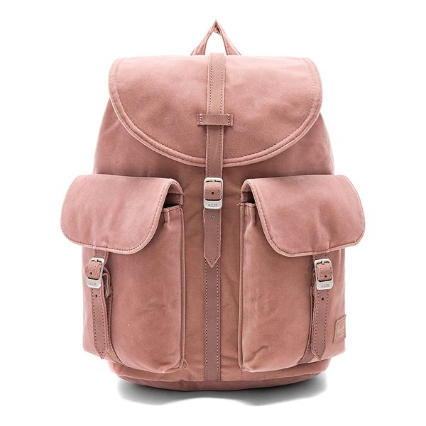 """HERSCHEL SUPPLY CO. Velvet Dawson X-Small - """"Velvet exterior with poly fabric lining. Flap top with..."""
