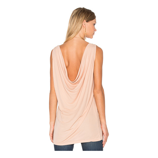 HOSS INTROPIA Draped Back Tank - 100% viscose. Hand wash cold. Unlined. Draped back....