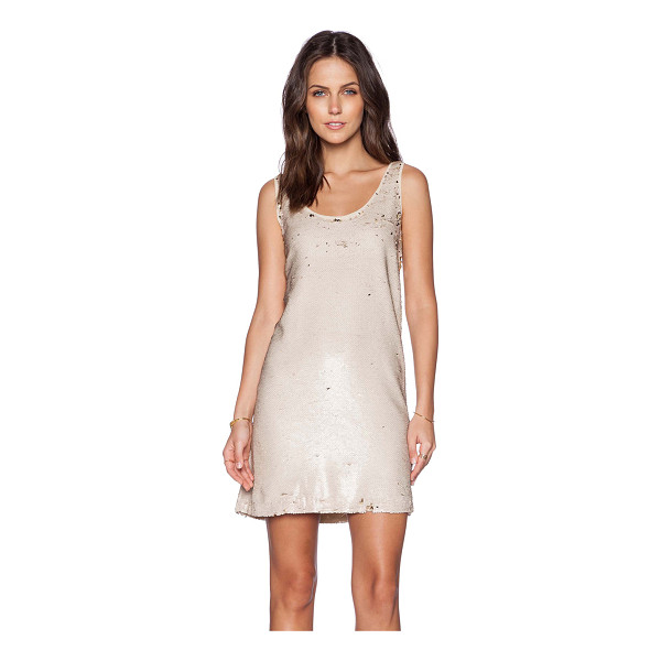 HOSS INTROPIA Sequin dress - Self & Lining: 100% poly. Hand wash cold. Fully lined....