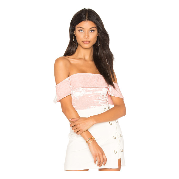H:OURS Off Shoulder Cheeky Bodysuit - Self & Lining: 95% poly 5% elastane. Dry clean only....
