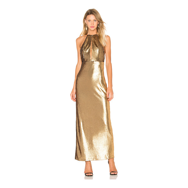 HOUSE OF HARLOW 1960 x REVOLVE Ali Sequin Maxi - 100% poly. Hand wash cold. Fully lined. Bodice keyhole...