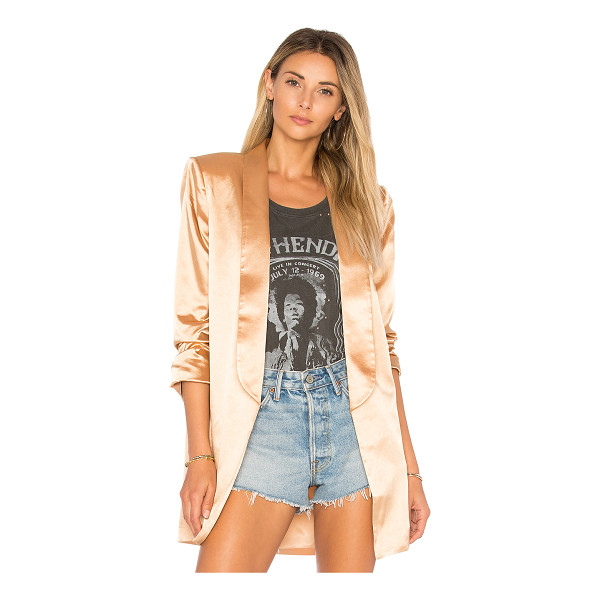 HOUSE OF HARLOW 1960 x REVOLVE Chloe Boyfriend Jacket - Self: 97% poly 3% spandexLining: 100% poly. Dry clean only....