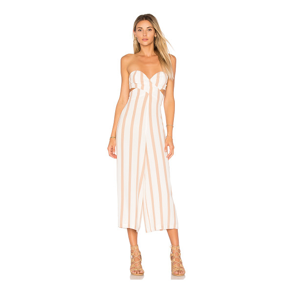 "HOUSE OF HARLOW 1960 X REVOLVE Joelle Jumpsuit - ""Self: 55% rayon 45% viscoseLining: 100% poly. Hand wash..."