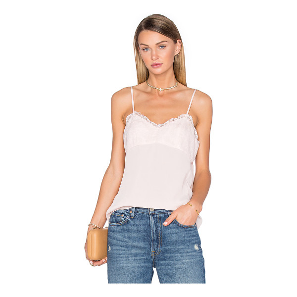 HOUSE OF HARLOW 1960 x REVOLVE Laine Lace Detail Cami - 100% poly. Hand wash cold. Adjustable shoulder straps....
