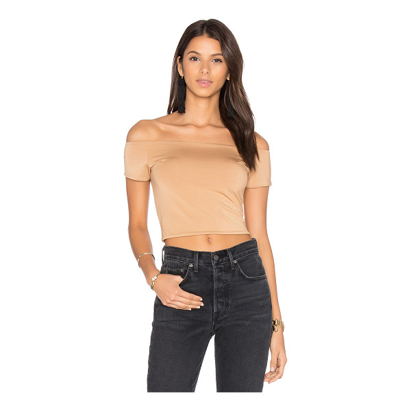 HOUSE OF HARLOW 1960 x REVOLVE Lola Crop - Rayon blend. Hand wash cold. Jersey knit fabric. HOOF-WS58....