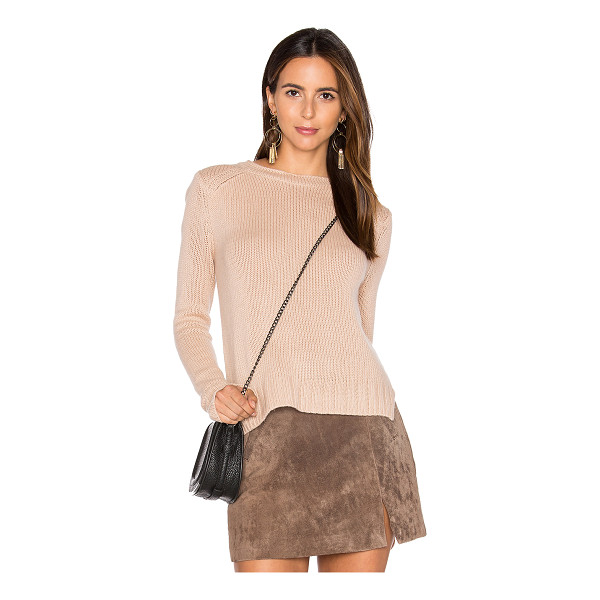INHABIT Rib Cashmere Sweater - 100% cashmere. Dry clean only. Knit fabric. INHA-WK165....