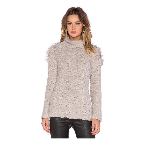 IRO Cliff Sweater - Main Fabric: 53% acrylic 25% mohair 12% poly 10% wool. Dry...
