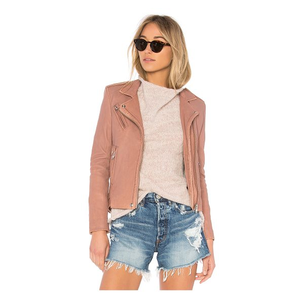 IRO Han Leather Jacket - Everyday edge brought to you by IRO's Han Jacket....