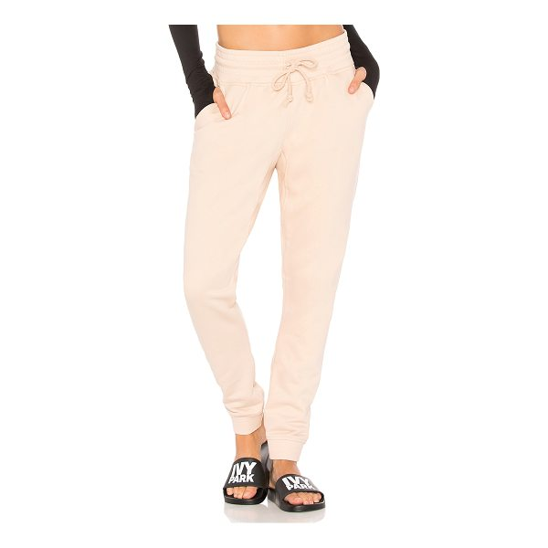 IVY PARK Jogger - Self 1: 88% cotton 12% polySelf 2: 98% cotton 2% elastane....