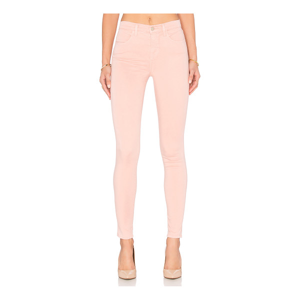 "J BRAND Maria high rise skinny - 61% lyocell 36% cotton 3% elastane. 12"""" in the knee..."