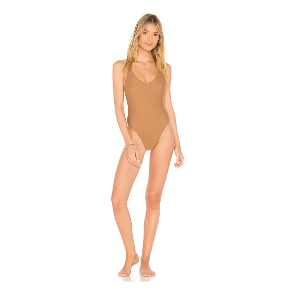 JADE SWIM Links One Piece - Nylon blend. Hand wash cold. Stretch fit. JADR-WX7. JSR18...