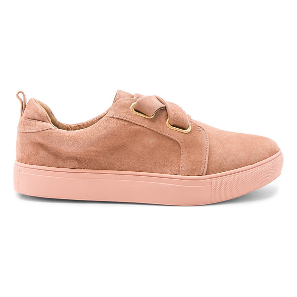 JAGGAR Fractured Sneaker - Suede upper with rubber sole. Laced front. Pull on styling....