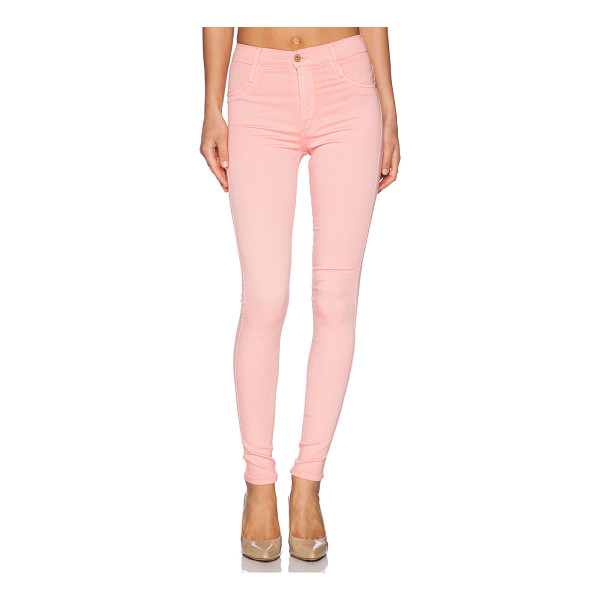 "JAMES JEANS High class skinny ultra flex hd color skinny - Cotton blend. 11"""" in the knee narrows to 9"""" at the leg..."