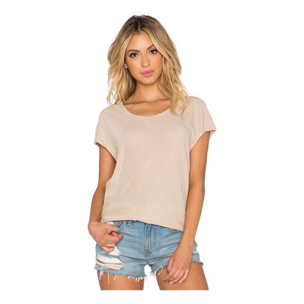 JAMES PERSE Circular shell top - 100% cotton. JAME-WS2306. WEK3356. James Perse started out...
