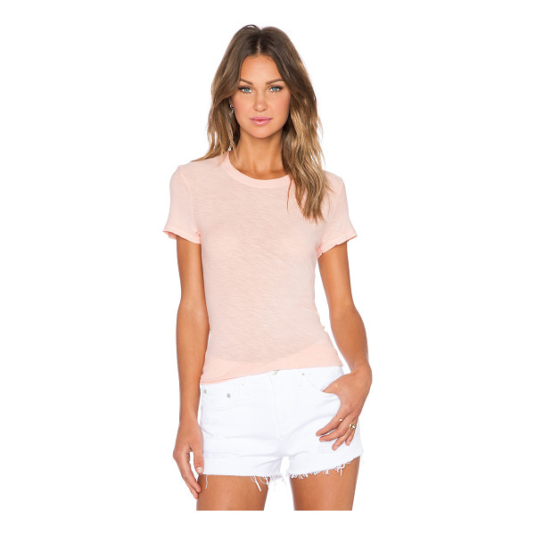 JAMES PERSE Sheer slub crew neck tee - 100% cotton. Slub fabric. JAME-WS2280. WUA3037. James Perse...