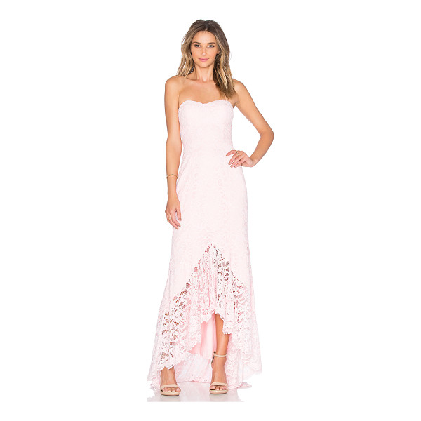 """JARLO Adecyn Dress - """"Poly blend. Dry clean only. Fully lined. Plastic bodice..."""