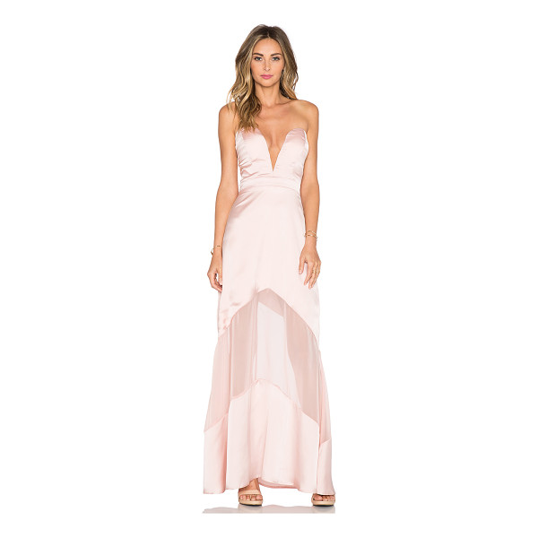 JARLO Elizabeth maxi dress - 100% poly. Dry clean only. Bustline to hem measures approx...