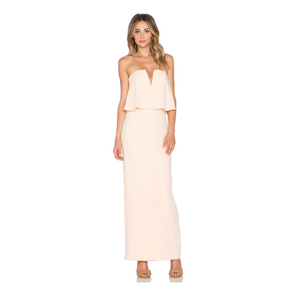 JARLO Poppy maxi dress - 100% poly. Dry clean only. Bustline to hem measures approx...