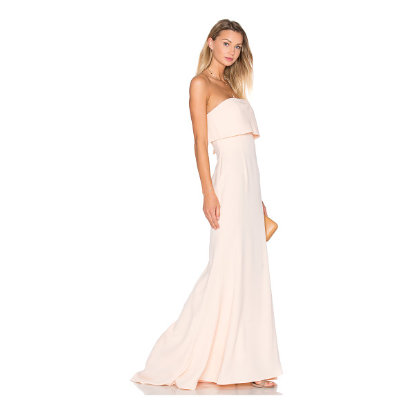JARLO x REVOLVE Blaze Gown - 100% poly. Dry clean only. Fully lined. Back hidden zipper...