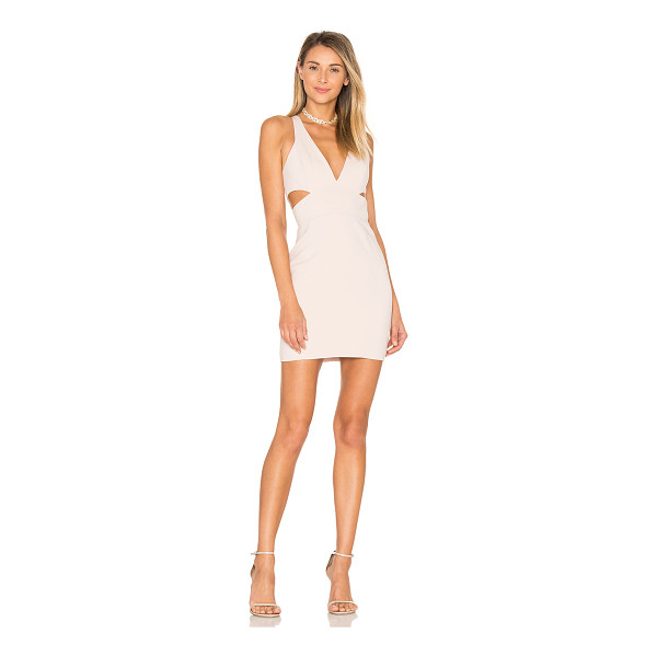 JAY GODFREY Krooger Dress - 98% poly 2% spandex. Dry clean only. Fully lined. Side and...