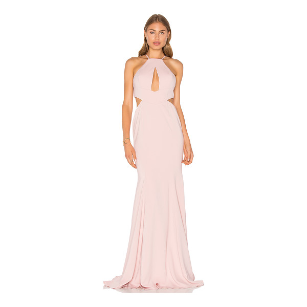 JAY GODFREY Sao Paulo Gown - 98% poly 2% spandex. Dry clean only. Fully lined. Front and...