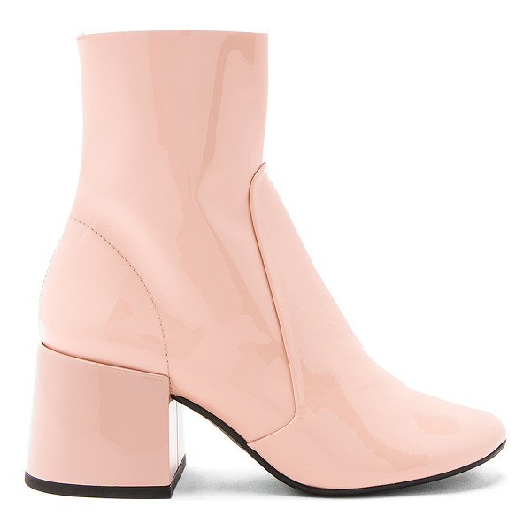 """JEFFREY CAMPBELL Ashcroft Bootie - """"Patent leather upper with man made sole. Side zip closure...."""