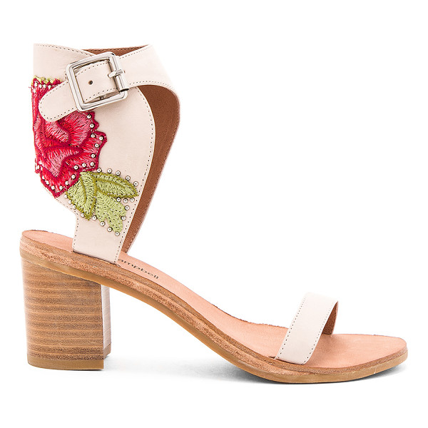 JEFFREY CAMPBELL Iowa REV Sandals - Leather upper with man made sole. Ankle strap with buckle...