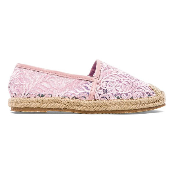 JEFFREY CAMPBELL Nia flat - Textile upper with synthetic sole. Slip-on styling. Whip...