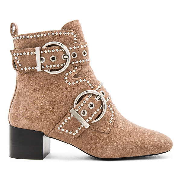 JEFFREY CAMPBELL x REVOLVE Cygnet St Booties - Suede upper with man made sole. Side zip closure. Attached