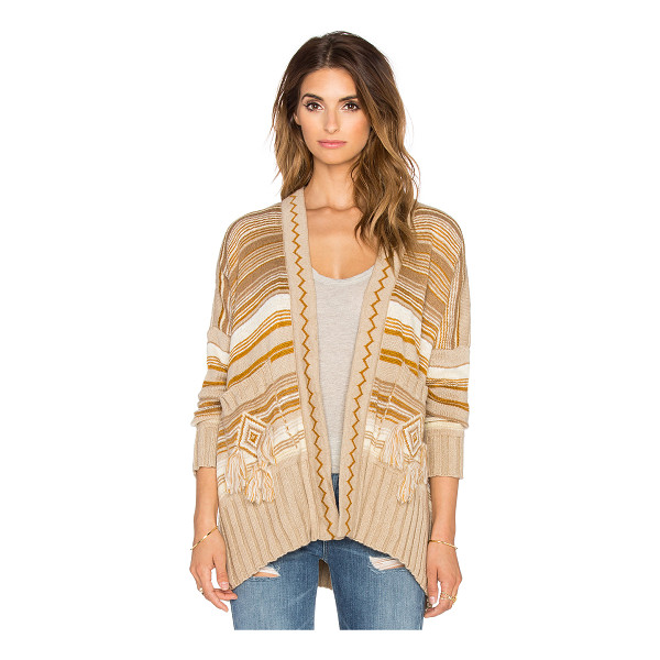 JEN'S PIRATE BOOTY Shaman cardigan - 75% acrylic 25% polyamide. Dry clean only. Open front....