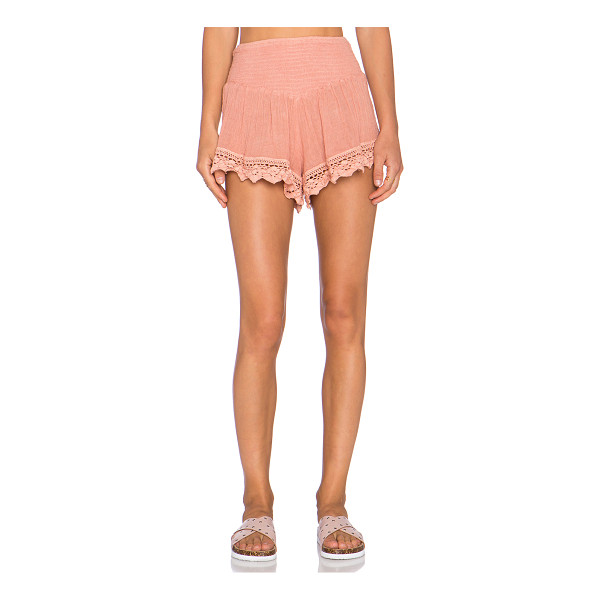 """JEN'S PIRATE BOOTY X revolve exclusive cozumel shorties - 100% cotton. Hand wash cold. Shorts measure approx 12"""""""" in..."""