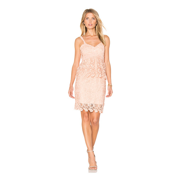 J.O.A. Crochet Dress - Self & Lining: 100% poly. Dry clean only. Fully lined....