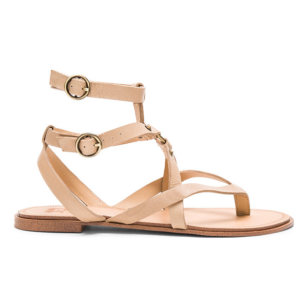 JOE'S JEANS Victor Sandal - Leather upper with man made sole. Ankle straps with buckle...