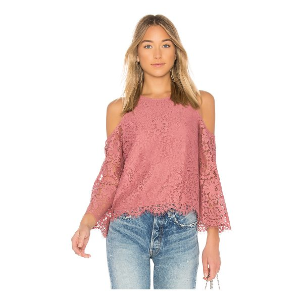 JOIE Abay Top - Self: 54% nylon 46% cottonContrast: 100% poly. Dry clean...