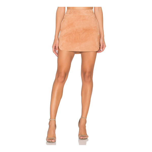 KARINA GRIMALDI Jacob Suede Skirt - 100% suede. Professional leather cleaning only. Suede...