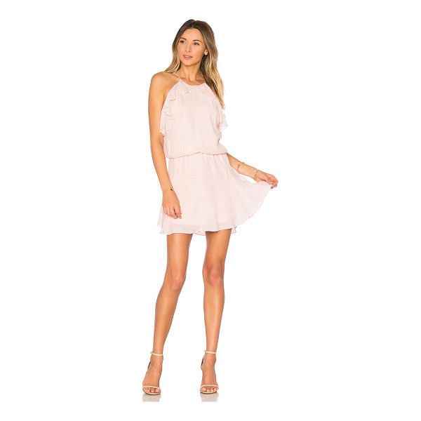 KARINA GRIMALDI Lulu Solid Mini Dress - Self: 70% viscose 30% silkLining: 100% poly. Dry clean...