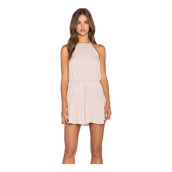 KARINA GRIMALDI Romina mini dress - Silk blend. Dry clean only. Fully lined. Elastic waist....