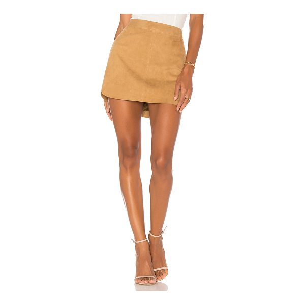 "KARINA GRIMALDI X REVOLVE Jacob Suede Skirt - ""Self: 100% leatherLining: 100% poly. Professional leather..."
