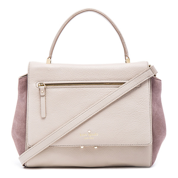 KATE SPADE NEW YORK Anderson shoulder bag - Leather exterior with printed poly fabric lining....